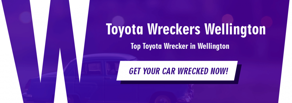 toyota wreckers wellington